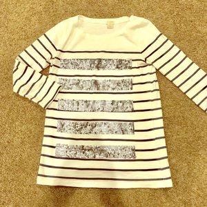 J crew striped sequence shirt